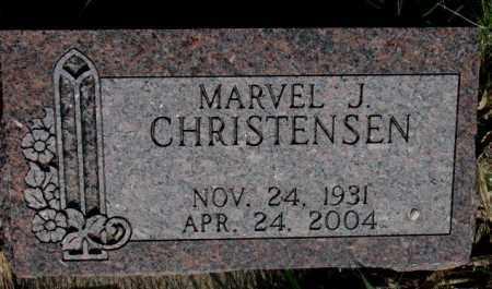 CHRISTENSEN, MARVEL J. - Burt County, Nebraska | MARVEL J. CHRISTENSEN - Nebraska Gravestone Photos