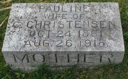 CHRISTENSEN, PAULINE - Burt County, Nebraska | PAULINE CHRISTENSEN - Nebraska Gravestone Photos