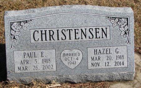 CHRISTENSEN, PAUL E. - Burt County, Nebraska   PAUL E. CHRISTENSEN - Nebraska Gravestone Photos