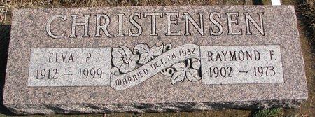 CHRISTENSEN, ELVA P. - Burt County, Nebraska | ELVA P. CHRISTENSEN - Nebraska Gravestone Photos