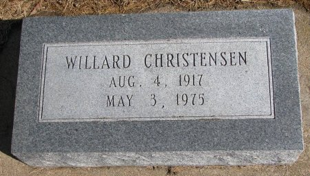 CHRISTENSEN, WILLARD - Burt County, Nebraska   WILLARD CHRISTENSEN - Nebraska Gravestone Photos