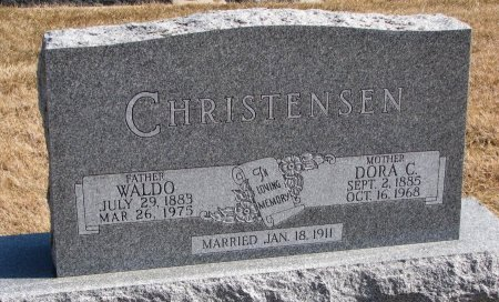 CHRISTENSEN, DORA C. - Burt County, Nebraska | DORA C. CHRISTENSEN - Nebraska Gravestone Photos
