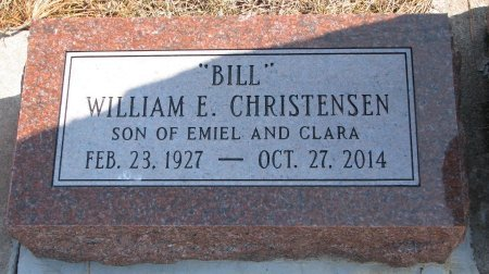 "CHRISTENSEN, WILLIAM E. ""BILL"" - Burt County, Nebraska 