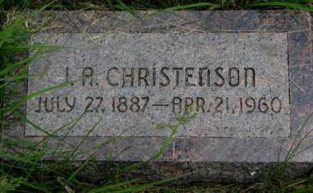 CHRISTENSON, J.A. - Burt County, Nebraska | J.A. CHRISTENSON - Nebraska Gravestone Photos
