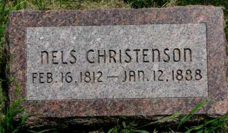 CHRISTENSON, NELS - Burt County, Nebraska   NELS CHRISTENSON - Nebraska Gravestone Photos