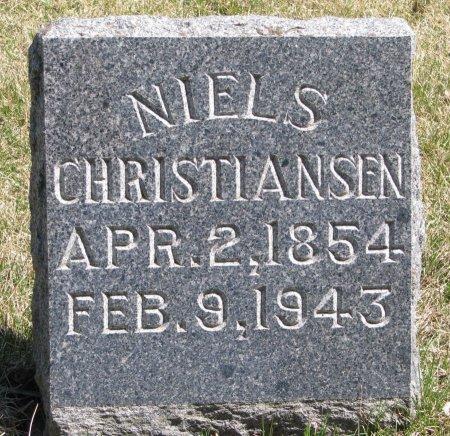 CHRISTIANSEN, NIELS - Burt County, Nebraska | NIELS CHRISTIANSEN - Nebraska Gravestone Photos