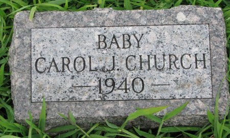 CHURCH, CAROL J. - Burt County, Nebraska   CAROL J. CHURCH - Nebraska Gravestone Photos