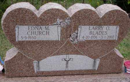 CHURCH, EDNA M. - Burt County, Nebraska   EDNA M. CHURCH - Nebraska Gravestone Photos