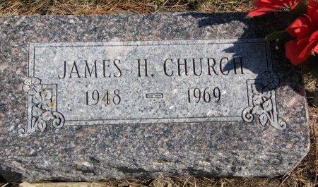 CHURCH, JAMES H. - Burt County, Nebraska | JAMES H. CHURCH - Nebraska Gravestone Photos