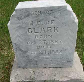CLARK, IRA E. - Burt County, Nebraska | IRA E. CLARK - Nebraska Gravestone Photos