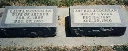 COCHRAN, ARTHUR J. - Burt County, Nebraska | ARTHUR J. COCHRAN - Nebraska Gravestone Photos