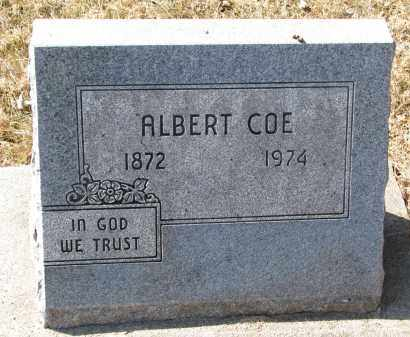 COE, ALBERT - Burt County, Nebraska   ALBERT COE - Nebraska Gravestone Photos