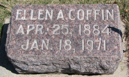 COFFIN, ELLEN A. - Burt County, Nebraska | ELLEN A. COFFIN - Nebraska Gravestone Photos