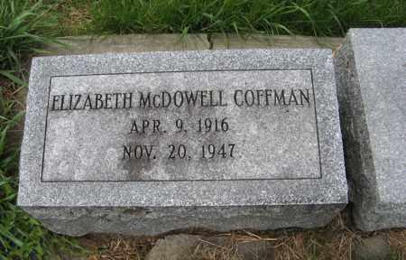 COFFMAN, ELIZABETH - Burt County, Nebraska | ELIZABETH COFFMAN - Nebraska Gravestone Photos
