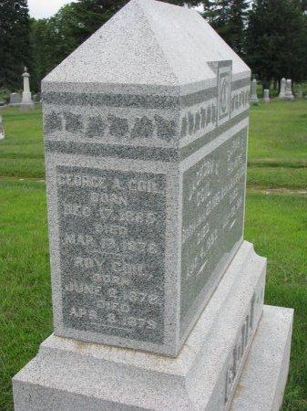COIL, GEORGE A. - Burt County, Nebraska | GEORGE A. COIL - Nebraska Gravestone Photos