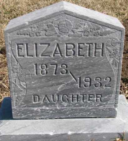 COLLIGAN, ELIZABETH - Burt County, Nebraska | ELIZABETH COLLIGAN - Nebraska Gravestone Photos