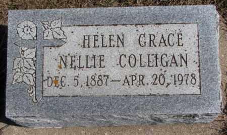 COLLIGAN, HELEN GRACE NELLIE - Burt County, Nebraska | HELEN GRACE NELLIE COLLIGAN - Nebraska Gravestone Photos