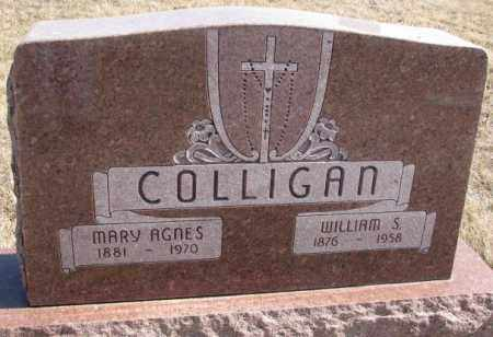 COLLIGAN, MARY AGNES - Burt County, Nebraska | MARY AGNES COLLIGAN - Nebraska Gravestone Photos