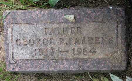 FARRENS, GEORGE P. - Burt County, Nebraska | GEORGE P. FARRENS - Nebraska Gravestone Photos