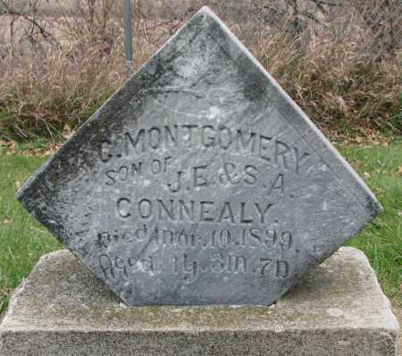 CONNEALY, C. MONTGOMERY - Burt County, Nebraska | C. MONTGOMERY CONNEALY - Nebraska Gravestone Photos