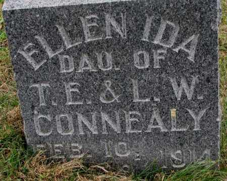 CONNEALY, ELLEN IDA - Burt County, Nebraska | ELLEN IDA CONNEALY - Nebraska Gravestone Photos