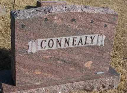 CONNEALY, FAMILY STONE - Burt County, Nebraska | FAMILY STONE CONNEALY - Nebraska Gravestone Photos