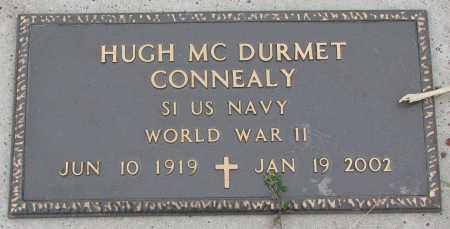 CONNEALY, HUGH MC DURMET - Burt County, Nebraska   HUGH MC DURMET CONNEALY - Nebraska Gravestone Photos