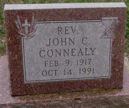 "CONNEALY, JOHN C. ""REV"" - Burt County, Nebraska | JOHN C. ""REV"" CONNEALY - Nebraska Gravestone Photos"