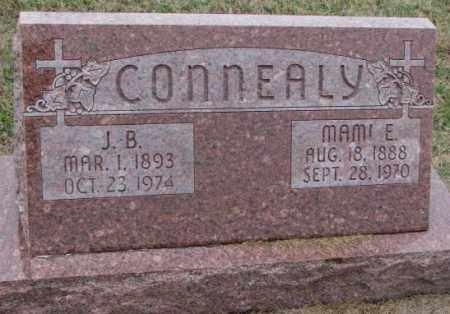 CONNEALY, J.B. - Burt County, Nebraska | J.B. CONNEALY - Nebraska Gravestone Photos