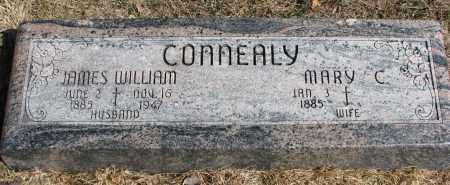 CONNEALY, JAMES WILLIAM - Burt County, Nebraska   JAMES WILLIAM CONNEALY - Nebraska Gravestone Photos