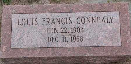 CONNEALY, LOUIS FRANCIS - Burt County, Nebraska | LOUIS FRANCIS CONNEALY - Nebraska Gravestone Photos