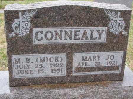CONNEALY, MARY JO - Burt County, Nebraska   MARY JO CONNEALY - Nebraska Gravestone Photos