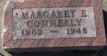 CONNEALY, MARGARET E. - Burt County, Nebraska   MARGARET E. CONNEALY - Nebraska Gravestone Photos