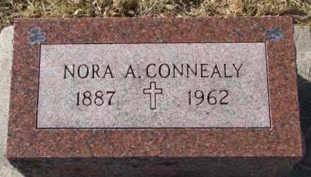 CONNEALY, NORA A. - Burt County, Nebraska   NORA A. CONNEALY - Nebraska Gravestone Photos