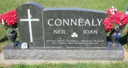 CONNEALY, NEIL - Burt County, Nebraska | NEIL CONNEALY - Nebraska Gravestone Photos