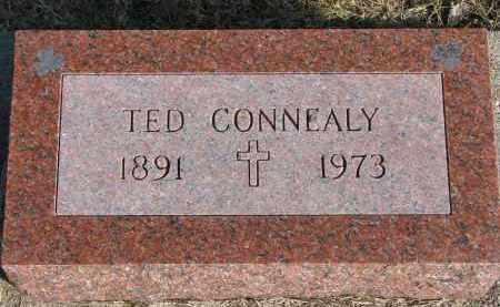CONNEALY, TED - Burt County, Nebraska | TED CONNEALY - Nebraska Gravestone Photos