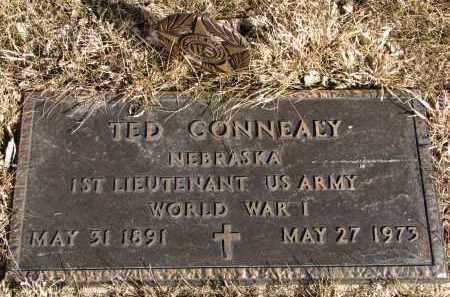 CONNEALY, TED (WW I) - Burt County, Nebraska | TED (WW I) CONNEALY - Nebraska Gravestone Photos