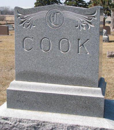 COOK, ANITA S.  - Burt County, Nebraska | ANITA S.  COOK - Nebraska Gravestone Photos