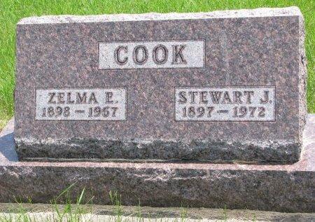 COOK, STEWART J. - Burt County, Nebraska | STEWART J. COOK - Nebraska Gravestone Photos