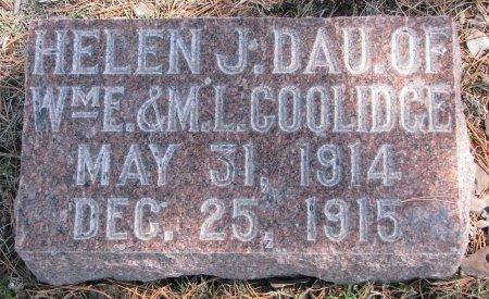 COOLIDGE, HELEN J. - Burt County, Nebraska | HELEN J. COOLIDGE - Nebraska Gravestone Photos