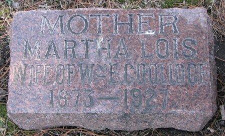 COOLIDGE, MARTHA LOIS - Burt County, Nebraska | MARTHA LOIS COOLIDGE - Nebraska Gravestone Photos