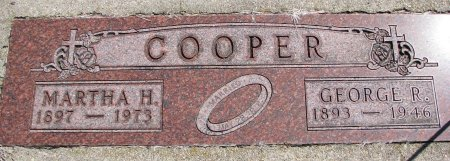 COOPER, GEORGE R. - Burt County, Nebraska | GEORGE R. COOPER - Nebraska Gravestone Photos
