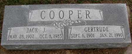 COOPER, JACK J. - Burt County, Nebraska | JACK J. COOPER - Nebraska Gravestone Photos