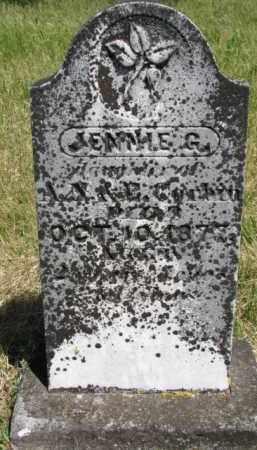 CORBIN, JENNIE G. - Burt County, Nebraska | JENNIE G. CORBIN - Nebraska Gravestone Photos