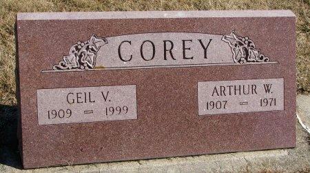 COREY, GEIL V. - Burt County, Nebraska | GEIL V. COREY - Nebraska Gravestone Photos