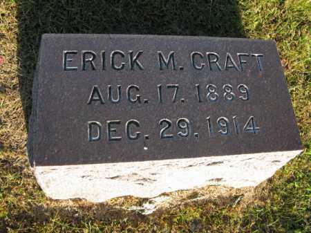 CRAFT, ERICK M. - Burt County, Nebraska | ERICK M. CRAFT - Nebraska Gravestone Photos
