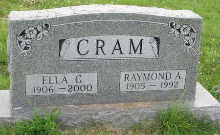 CRAM, RAYMOND A. - Burt County, Nebraska | RAYMOND A. CRAM - Nebraska Gravestone Photos