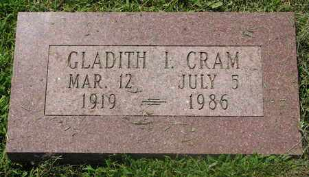 CRAM, GLADITH IRENE - Burt County, Nebraska   GLADITH IRENE CRAM - Nebraska Gravestone Photos