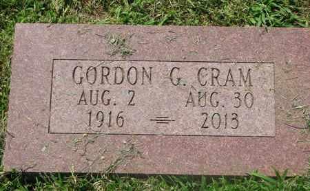 CRAM, GORDON G. - Burt County, Nebraska | GORDON G. CRAM - Nebraska Gravestone Photos
