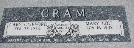 CRAM, MARY LOU - Burt County, Nebraska | MARY LOU CRAM - Nebraska Gravestone Photos